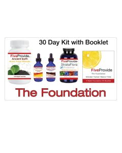 Foundation Kit : 30 Day Program for Building Healthy Gut, Vitality & Immunity